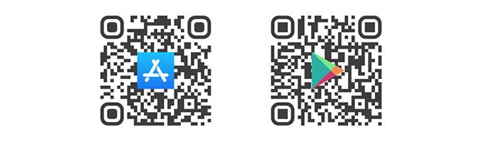 QR Code Weihnachtskarte