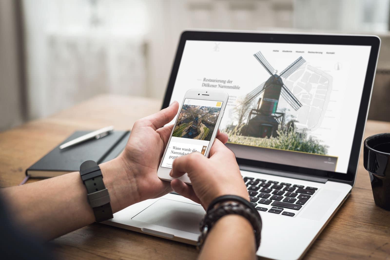 Webseite Narrenmühle 2020