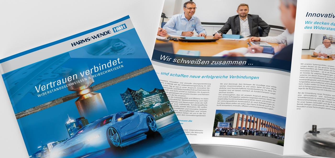 Broschüre Harms+Wende