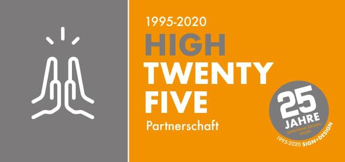 25 Jahre Partnerschaft