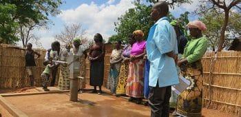 Sauberes Trinkwasser für Malawi