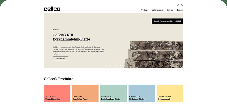 Cellco Webseite