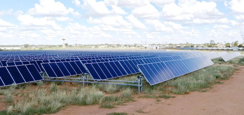 Solarenergieprojekt in Namibia